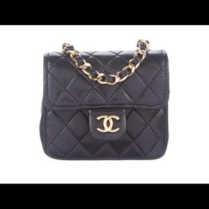 Chanel Vintage Micro Belt Bag